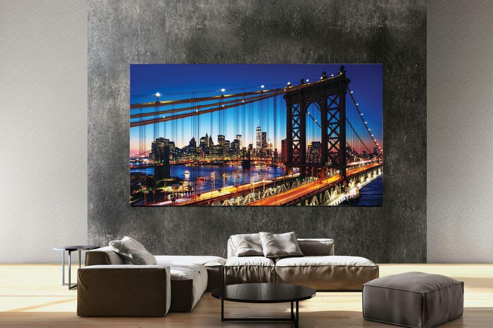 Samsung presenta un televisor giratorio que le permite mirar en modo vertical y una pantalla de 8K sin gafas en el CES 2019
