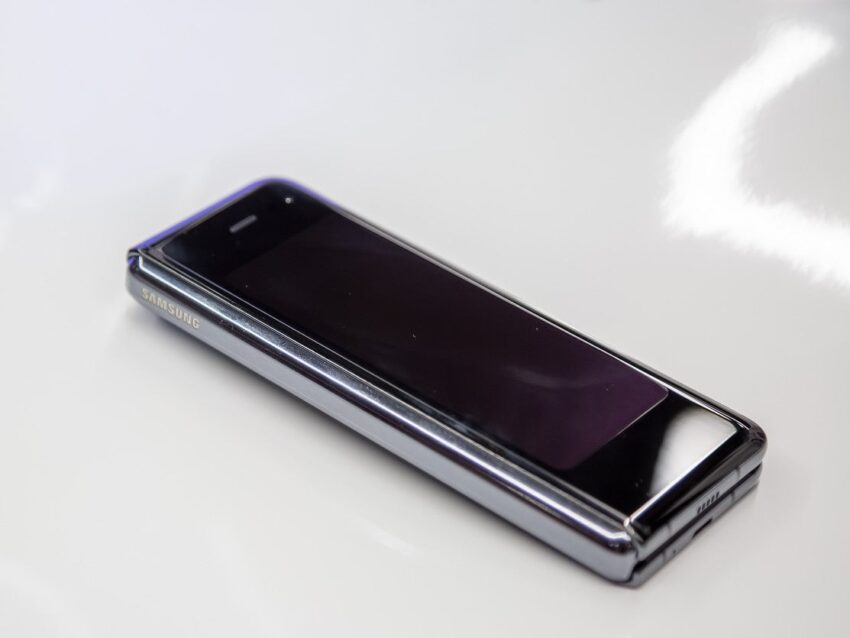 El futuro de los teléfonos móviles es plegable, según Samsung