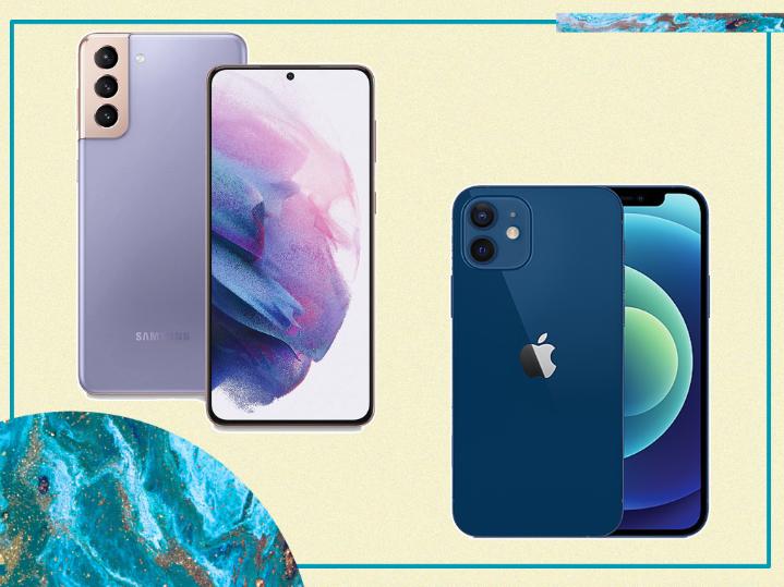 Samsung Galaxy S21 vs Apple iPhone 12: echamos un vistazo a qué nueva versión es mejor