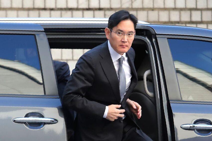 Lee de Samsung aparece en el juicio previo a la libertad condicional Moon Jae-Corea del Sur Park Geun-hye CEO de Samsung