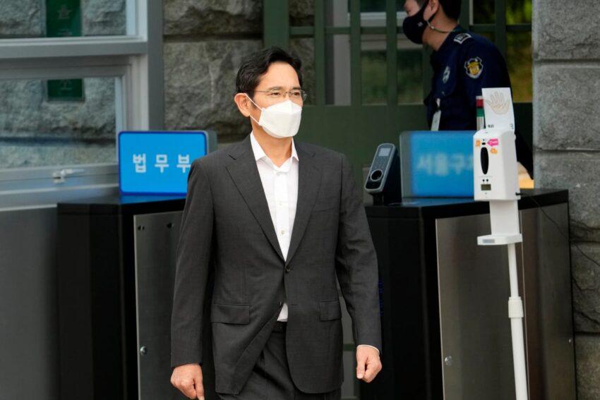 El heredero de Samsung en libertad condicional se disculpa por plantear la preocupación pública Park Geun-hye Moon Jae-en Corea del Sur Líderes empresariales japoneses